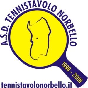Logo A.S.D. Tennistavolo Norbello Decennale Web