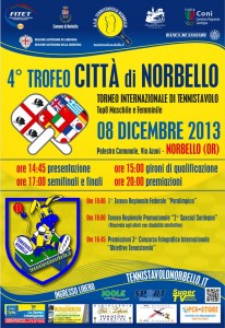 Locandina 4° Trofeo Città di Norbello - 08 Dic. 2013 Web