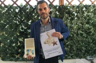 Premiazione Simone CONI 20-04-2016